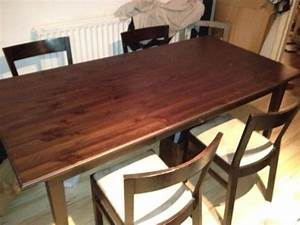 sophisticated second hand dining room table and chairs With second hand dining room tables