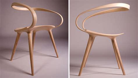 velo chair   single piece  bent wood