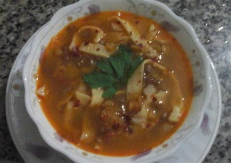 Resep sayur sop bening ini cukup praktis dan simpel cara membuatnya. Resep Sop Lentil - Resep Sup Lentil Bumbu Kari Oleh Angela ...