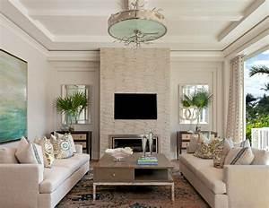 Coastal Contemporary - Beach Style - Living Room - by