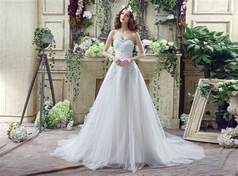 2016 Gorgeous Empire Wedding Dress In Stock Sweetheart