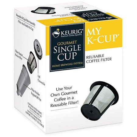 User rating, 4.4 out of 5 stars with 235 reviews. Keurig My K-Cup Reusable Coffee Filter - Walmart.com