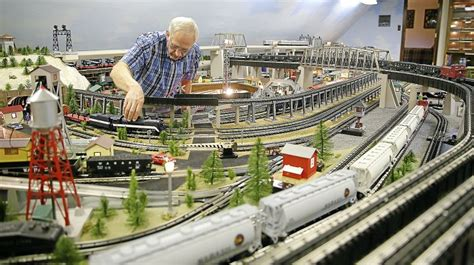 e s trains and hobby enthusiast has keen interest in his hobby news