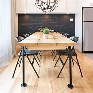 Table A Manger Industrielle : en tapes une table de style industriel brico diner ~ Melissatoandfro.com Idées de Décoration