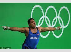 Weightlifter from Kiribati does best celebration dance in