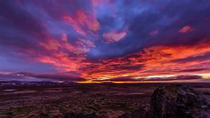 Landscape Reykjavik Fire Stag Imgur Gifs Iceland