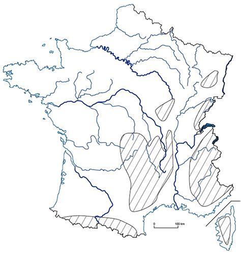 Carte De Fleuves Et Montagnes Vierge by Carte