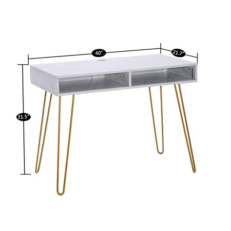 Changing a well used coffee table, may give your living area a whole new lease of life. Modern White Marble Coffee Table Gold Metal Frame Desk Computer Table Furniture | eBay