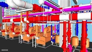 Chiller Room Lod400 Model Simulation
