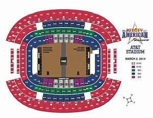 Rodeo Seating Chart Rfd Tv S The American Announces