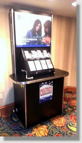 cellphone charging kiosk rentals  uniquely dc