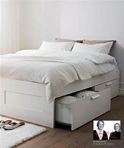 Ikea Tagesbett Brimnes : brimnes bed ikea drawer storage underneath plus can put it sideways with upholstered headboard ~ Watch28wear.com Haus und Dekorationen