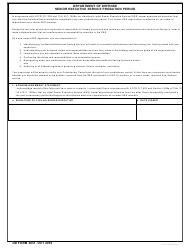 dd form   printable  annual periodic
