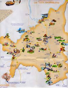 Maps Update #8361184: Thailand Tourist Attractions Map ...
