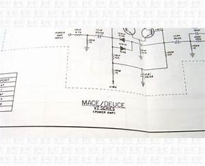 Peavey Mace Deuce Vt Series Schematic And Diagram