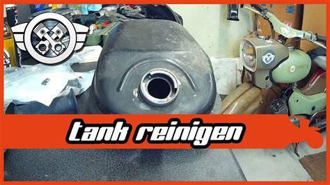 simson tank entrosten simson schwalbe aufbau 2 tank entrosten lack entfernen