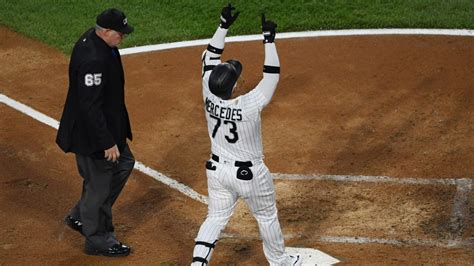 White Sox' Yermín Mercedes Busts Slump With Explosive Home ...