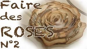 Comment Faire Des Roses En Papier : comment faire des roses en papier partie 2 youtube ~ Melissatoandfro.com Idées de Décoration