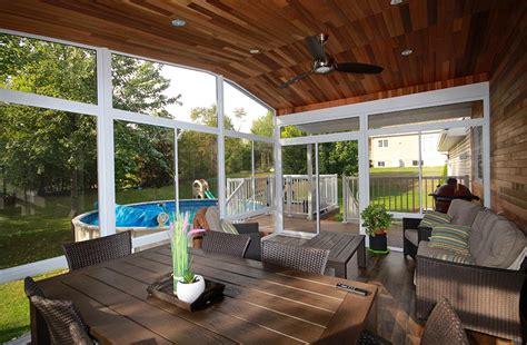veranda  solarium  saisons