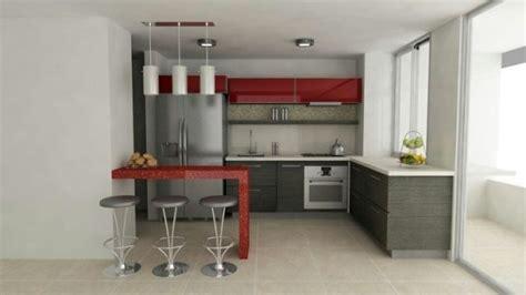 cocina roja  gris casa web