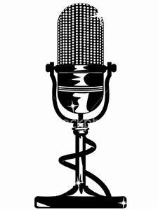 Microphone With Cord Illustration   Clipart Panda - Free ...