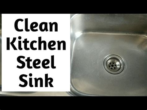 cleaning stainless steel kitchen sink diy clean kitchen stainless steel sink in 3 simple steps 8227