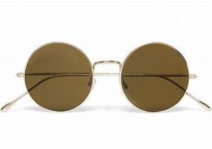 Lunette Soleil Ronde Homme : lunettes rondes hommes soleil mode vintage femmes hommes r ~ Nature-et-papiers.com Idées de Décoration