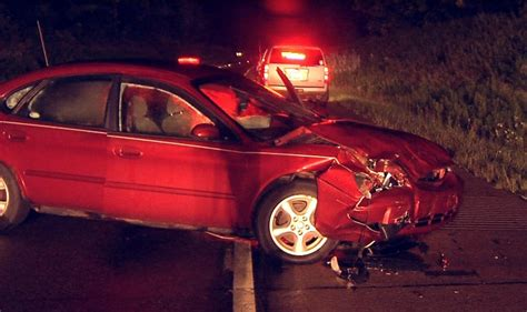 dead  late night car accident    erie news