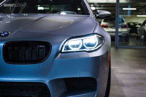 Real Life Photos Of The 2016 Bmw M5 Pure Metal Silver Edition