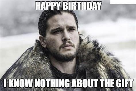 Game Of Thrones Happy Birthday Meme - 35 game of thrones birthday memes wishesgreeting