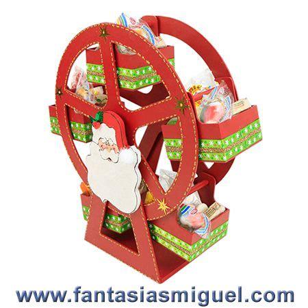carrusel dulcero santa como hacer manualidades fantasias miguel christmas crafts