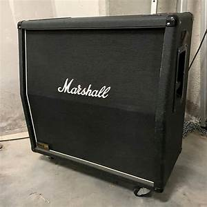 Marshall 1960a 300w 4x12 U0026quot  Angled Extension Guitar