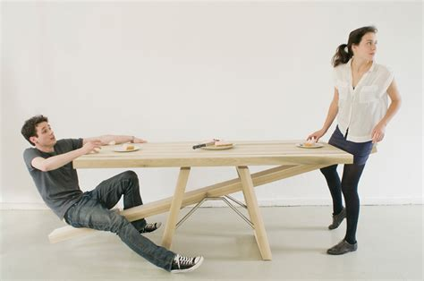 swing up coffee table see saw table by marleen jansen