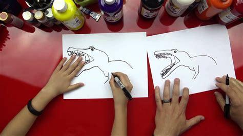 draw  spinosaurus youtube