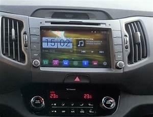 Kia Sportage Aftermarket Navigation Dvd Car Stereo  2011