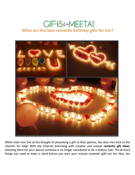 best romantic gifts for her on christmas best birthday gifts for