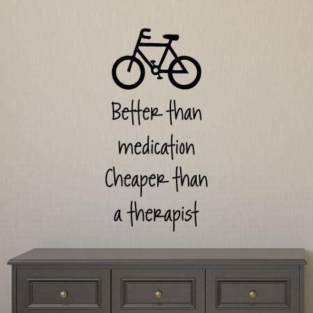 cycling    medicine wall quotes decal wallquotescom