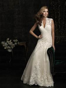 wholesale price a line princess lace keyhole back floor With keyhole back wedding dresses