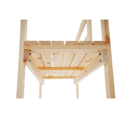 banc de jardin en bois naturel 114cm mdj04070 achat