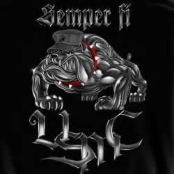 Bulldog Marines Logo Semper Fi Wallpaper