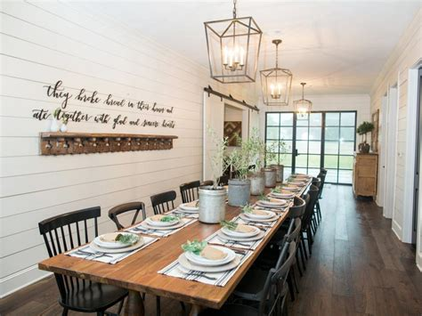 Kitchen Island Remodel Ideas - chip and joanna gaines transform a barn into a rustic home perfect for entertaining hgtv 39 s