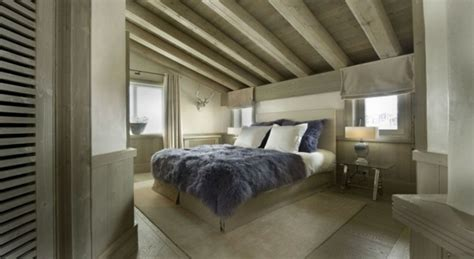 belles chambres à coucher white pearl un chalet de ski de style savoyard et moderne