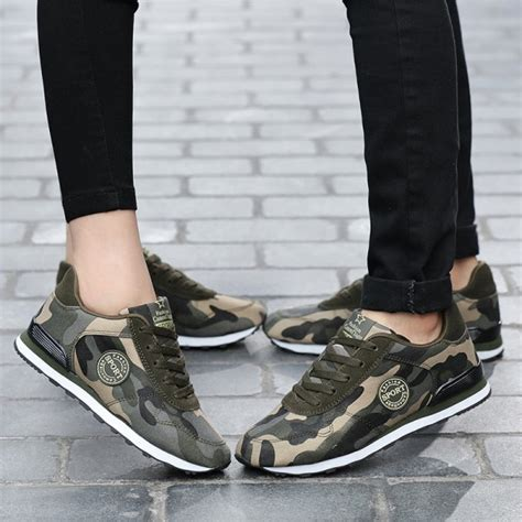Buy Fashion Lovers Unisex Canvas Shoes Camouflage Military