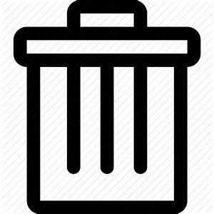 Delete, empty, full, recycle bin, recyclebin, trash icon ...