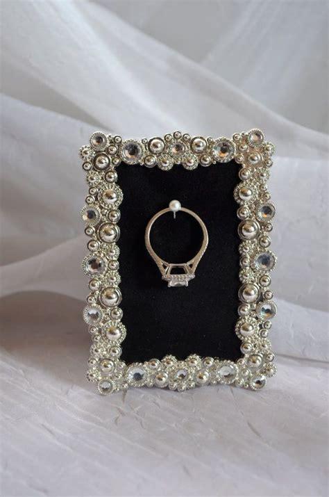 wedding ring picture frame holder 17 best ideas about wedding picture frames on