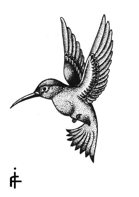 Hummingbird | Drawing/Painting | Hummingbird tattoo, Tattoos, Stippling tattoo