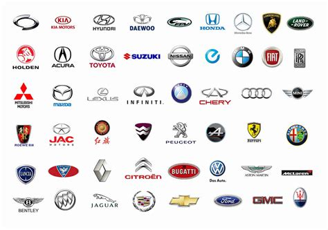 all car logos and names in the all car brands list and car logos by country a z