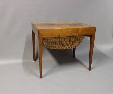 sewing table for sale small sewing table by severin hansen for haslev 1960s for