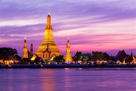 Wat Arun In Bangkok Indochinatours