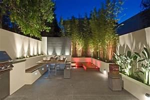 diy sichtschutz fur terrassen aus pflanzen 25 inspirationen With nice eclairage exterieur maison contemporaine 17 decoration jardiniere balcon